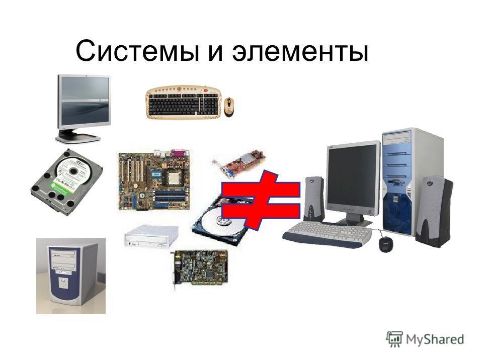 Системы и элементы