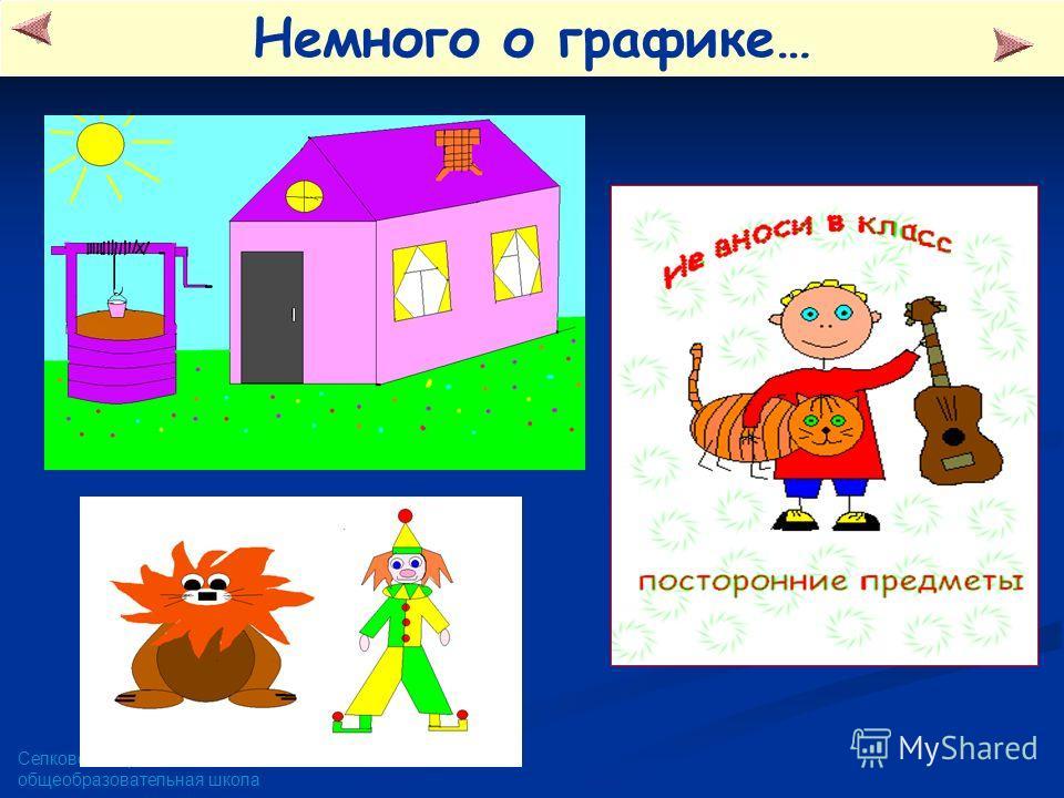 Селковская средняя общеобразовательная школа Немного о графике…