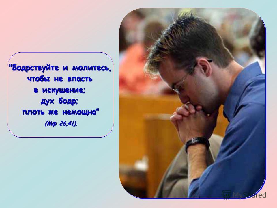 Здесь Иисус предстаёт перед нами как образец для тех, кому довелось встретиться с испытанием, и в то же время как Брат, который становится бок о бок с нами в эту трудную минуту.