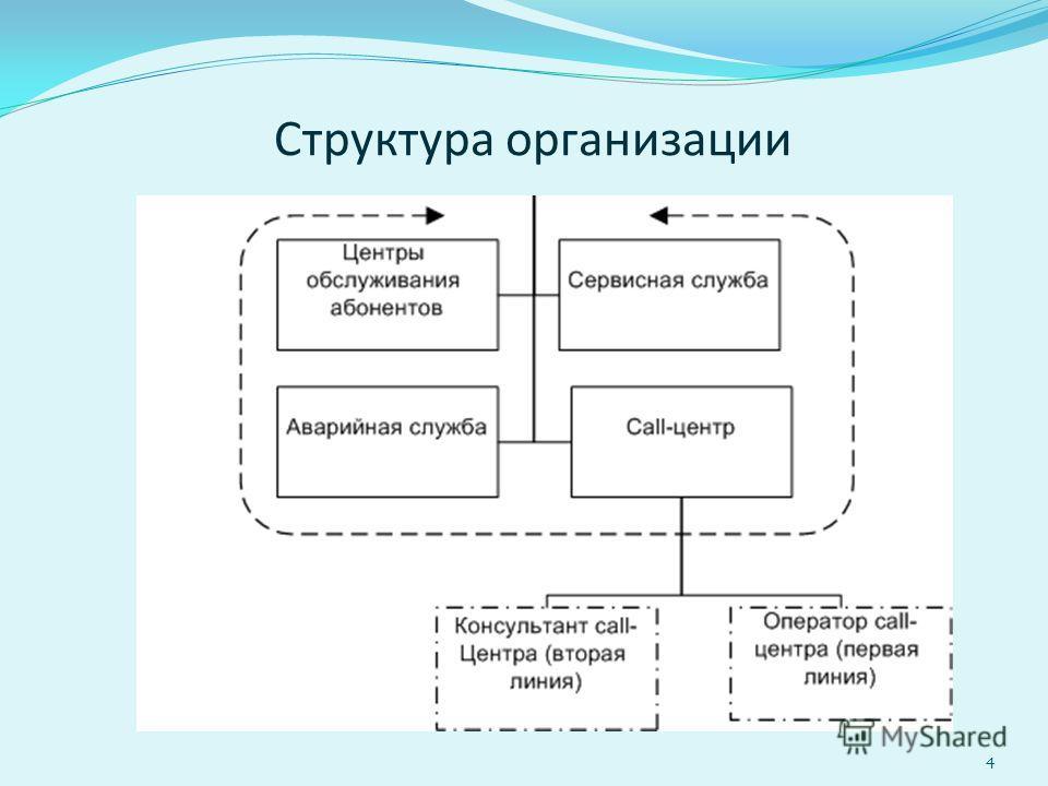 Структура организации 4