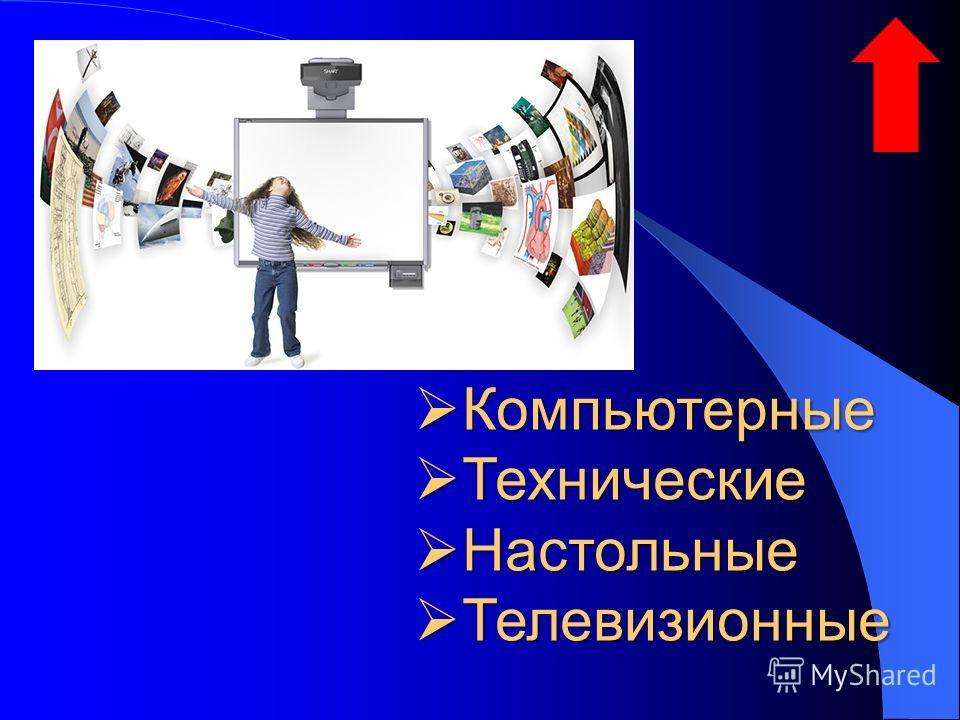 Компьютерные Компьютерные Технические Технические Настольные Настольные Телевизионные Телевизионные