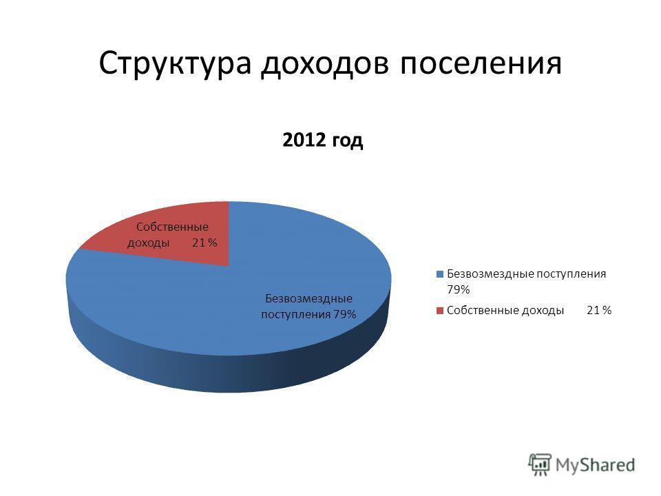Структура доходов поселения