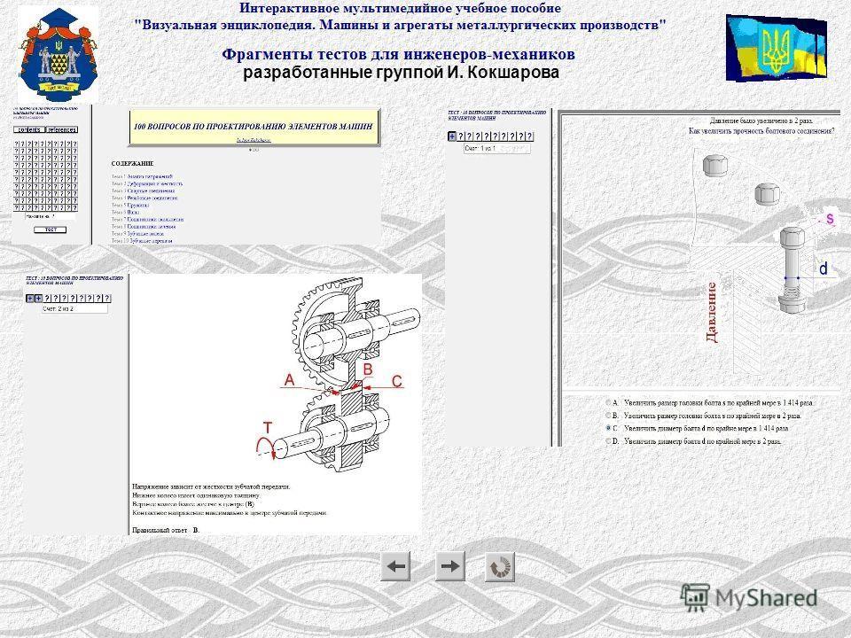 Презентация интерактивного мультимедийного пособия «Визуальная энциклопедия» разработанные группой И. Кокшарова
