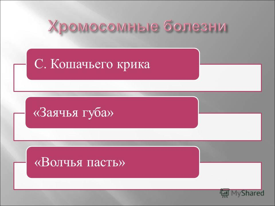 С. Кошачьего крика«Заячья губа»«Волчья пасть»