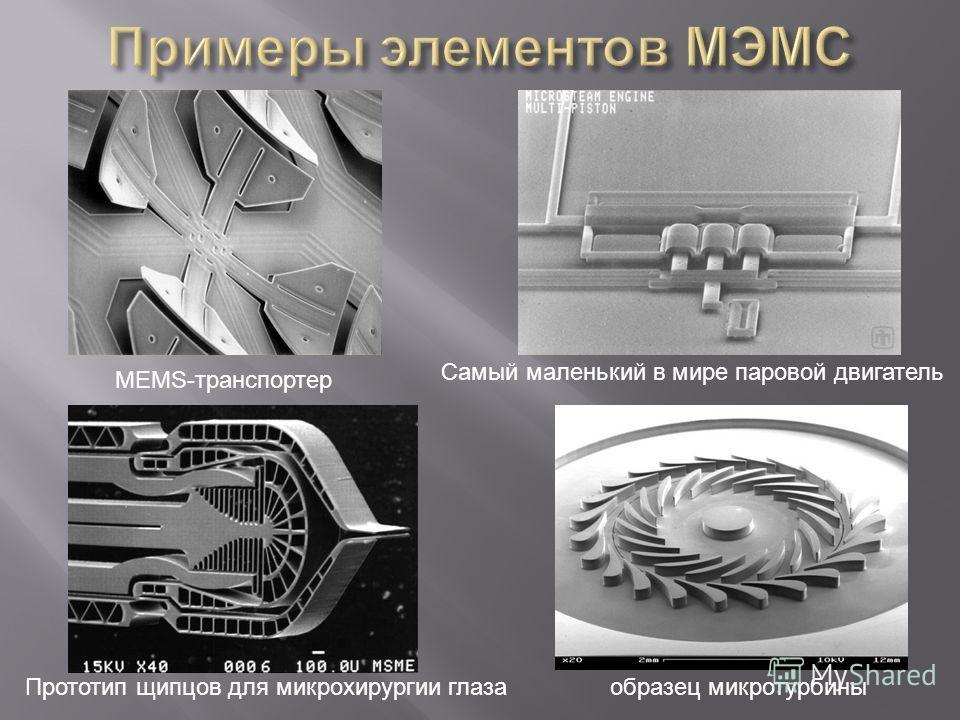 MEMS-транспортер образец микротурбины Самый маленький в мире паровой двигатель Прототип щипцов для микрохирургии глаза