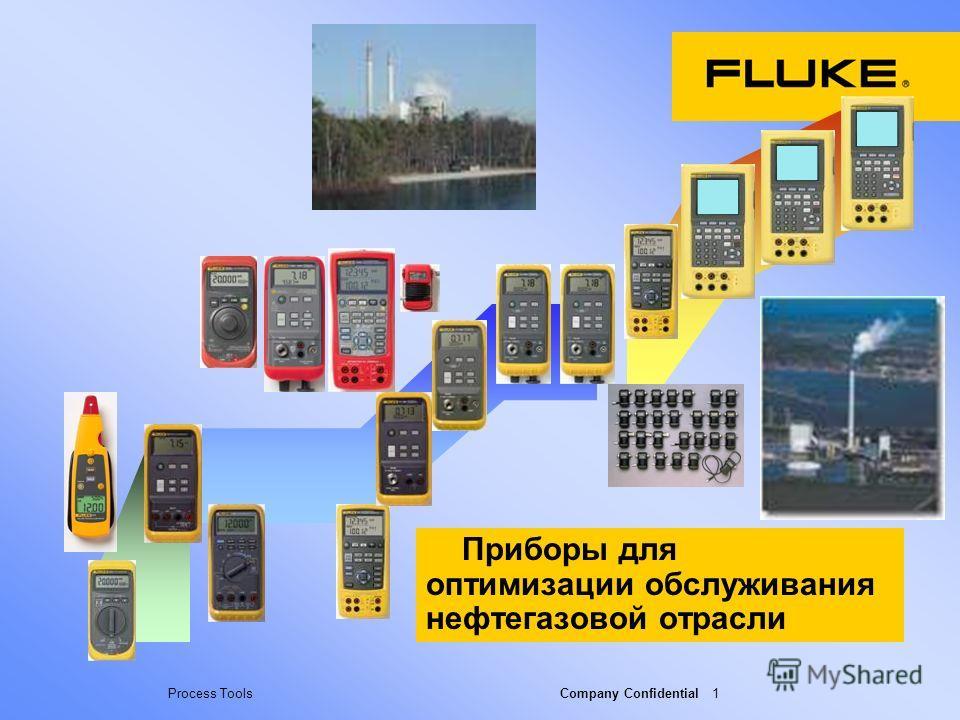 Process Tools Company Confidential 1 Приборы для оптимизации обслуживания нефтегазовой отрасли