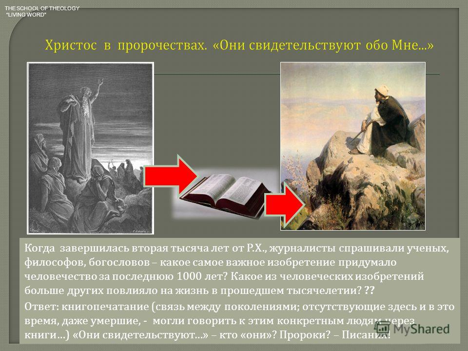 Когда завершилась вторая тысяча лет от Р. Х., журналисты спрашивали ученых, философов, богословов – какое самое важное изобретение придумало человечество за последнюю 1000 лет ? Какое из человеческих изобретений больше других повлияло на жизнь в прош