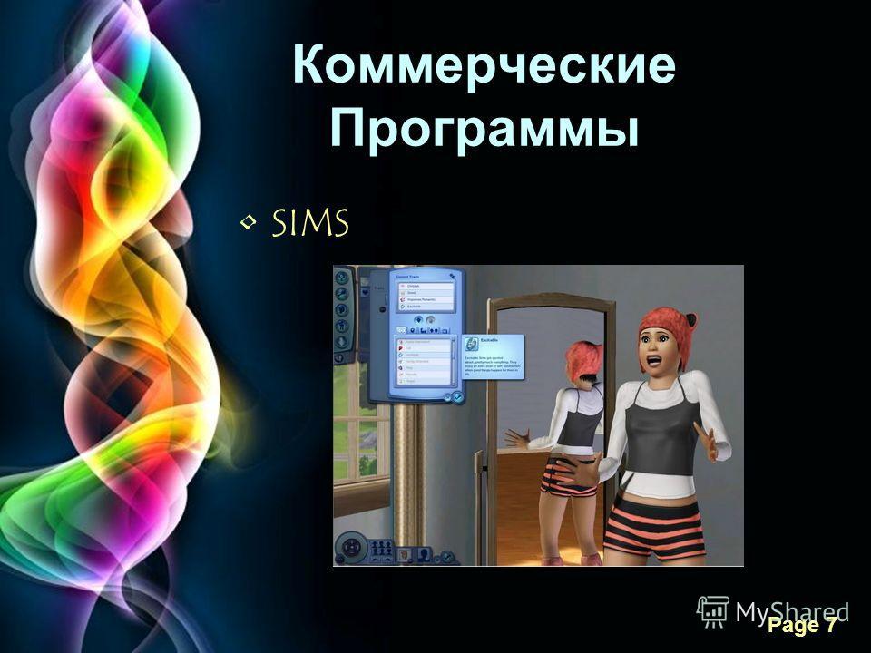 Free Powerpoint Templates Page 7 Коммерческие Программы SIMS