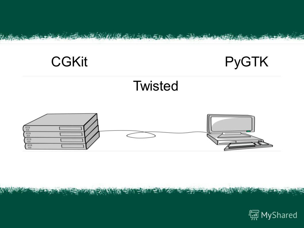 CGKit Twisted PyGTK
