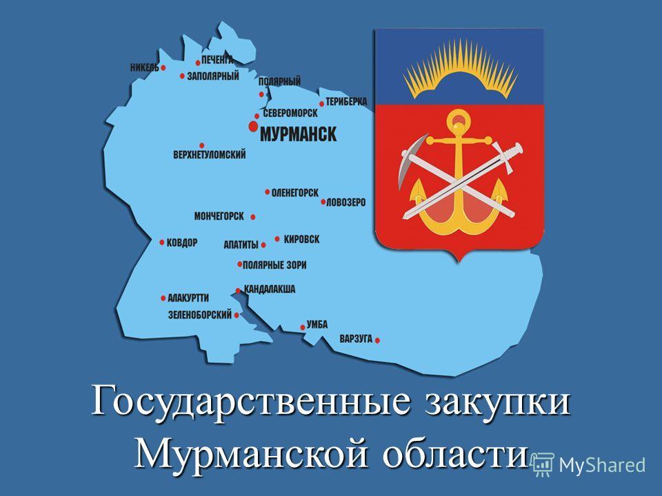 Государственные закупки Мурманской области