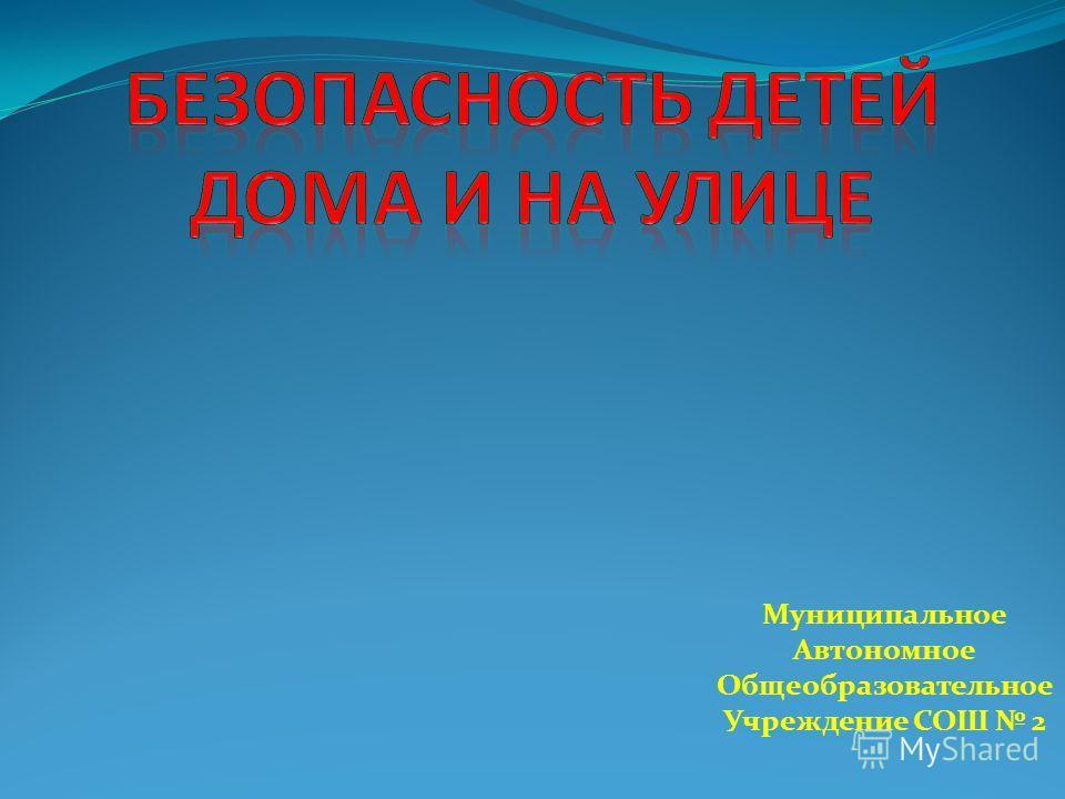 Муниципальное Автономное Общеобразовательное Учреждение СОШ 2