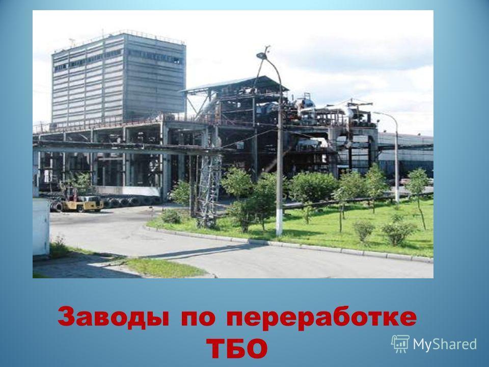Заводы по переработке ТБО
