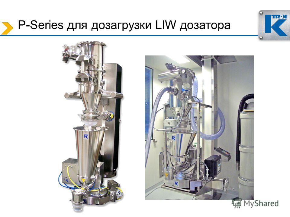 P-Series для дозагрузки LIW дозатора