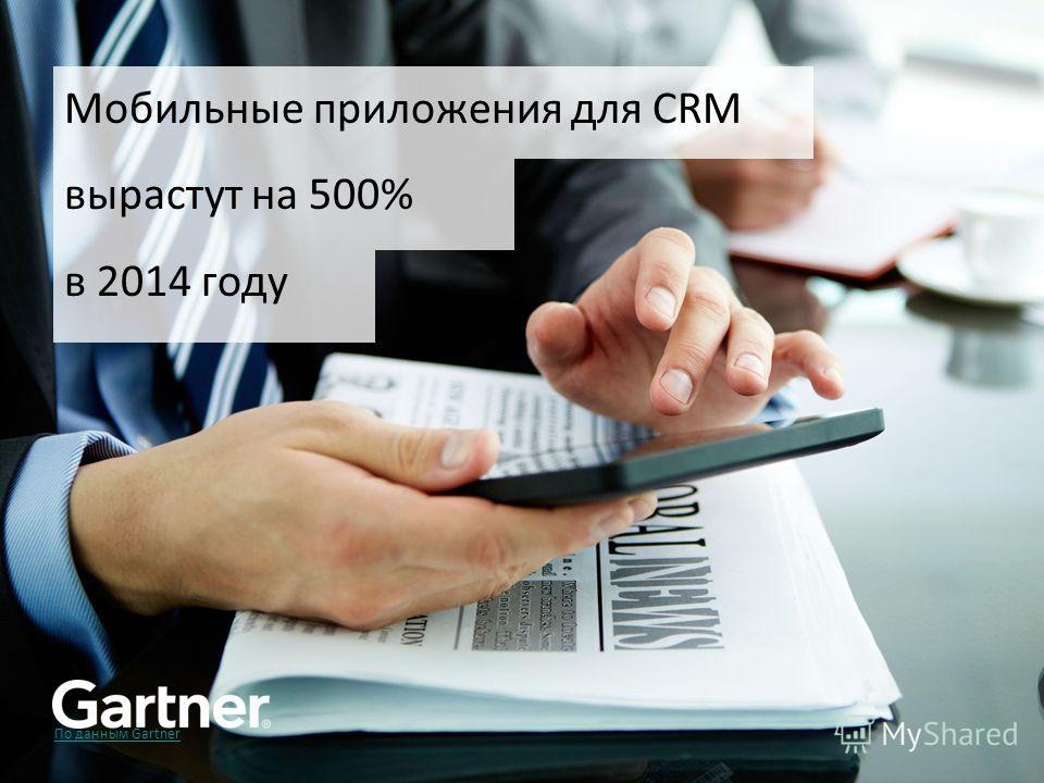?????? По данным Gartner Мобильные приложения для CRM вырастут на 500% в 2014 году