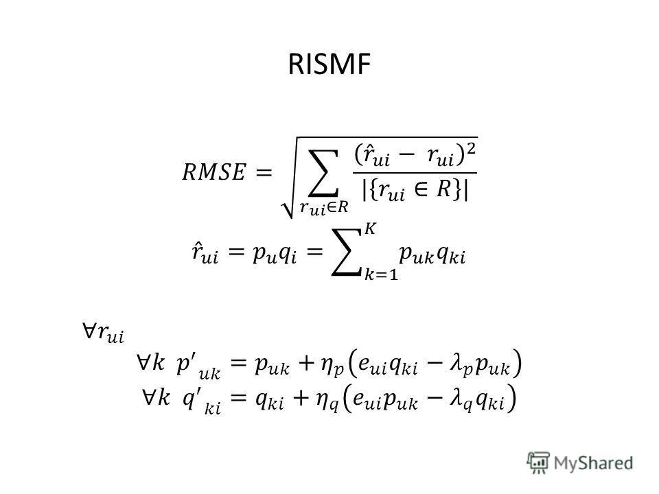 RISMF