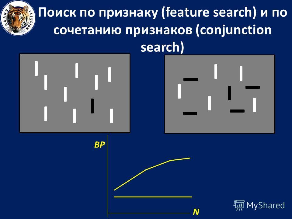 Поиск по признаку (feature search) и по сочетанию признаков (conjunction search) N ВР