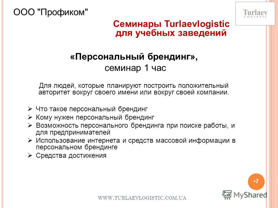 WWW. TURLAEVLOGISTIC. COM. UA 7 ООО