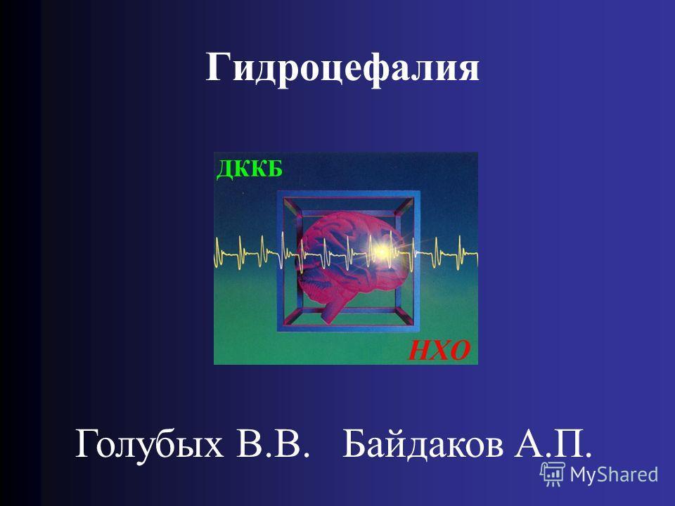 Гидроцефалия Голубых В.В. Байдаков А.П.
