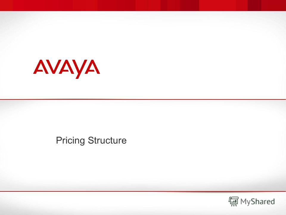 Pricing Structure
