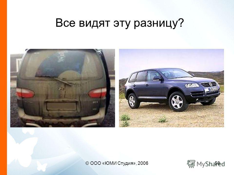 © ООО «ЮМИ Студия», 200658 Все видят эту разницу?