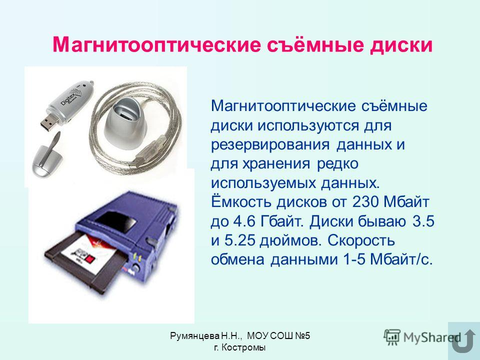 Стример Устройство для записи информации на кассеты с магнитной лентой. Стримеры имеют ёмкость от 20 Мбайт до 40 Гбайт, скорость чтения-записи данных от 100 Кбайт/с до 5 Мбайт/си более. Румянцева Н.Н., МОУ СОШ 5 г. Костромы