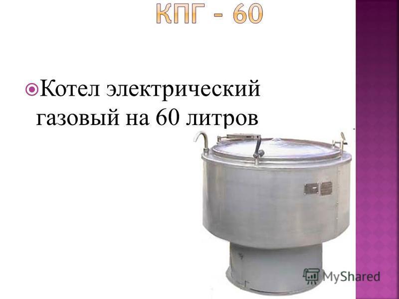 Котел электрический газовый на 60 литров