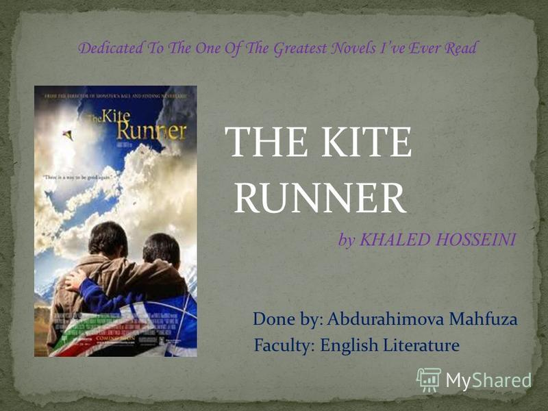 a critique of the kite runner a novel by khaled hosseini A few too many parallels let down khaled hosseini's first novel, the kite runner, says sarah a smith.