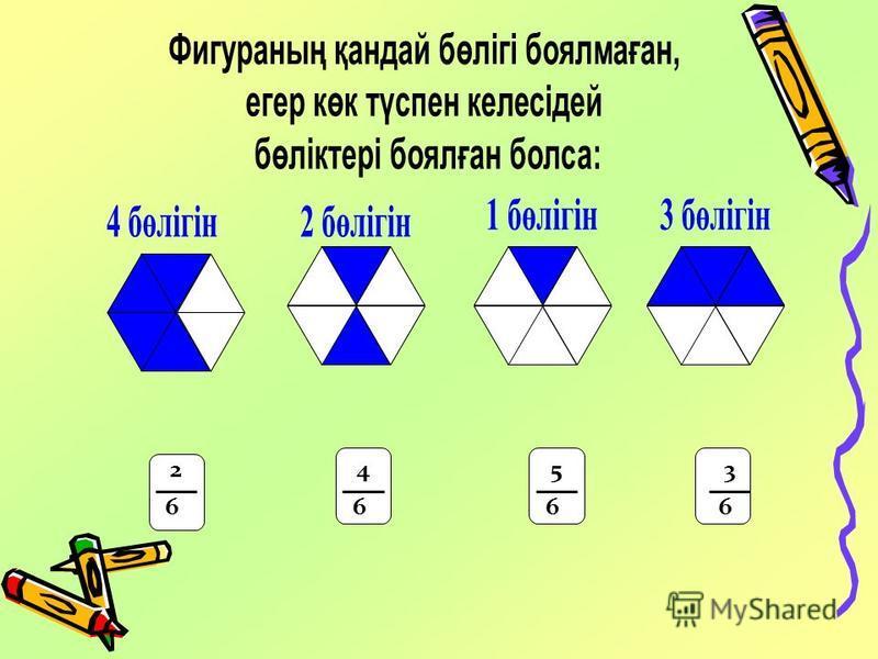 Фигураның қандай бөлігі 6 1 6 3 6 2 6 2 6 2 6 1 6 2 6 3 6 3 6 4 6 4 6 5
