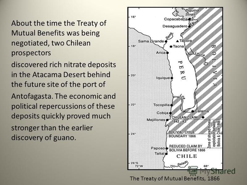 treaty between bolivia and chile essay Due to a lack of agreement on the territorial and lauca river issues, the  diplomatic relations between bolivia and chile have been severed.