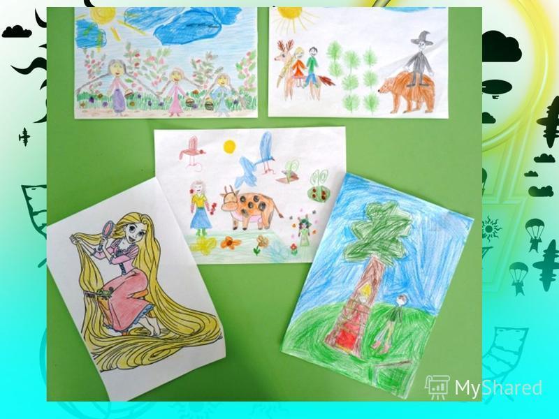 Конкурс рисунков по прочитанным книгам свободной мини- библиотеки