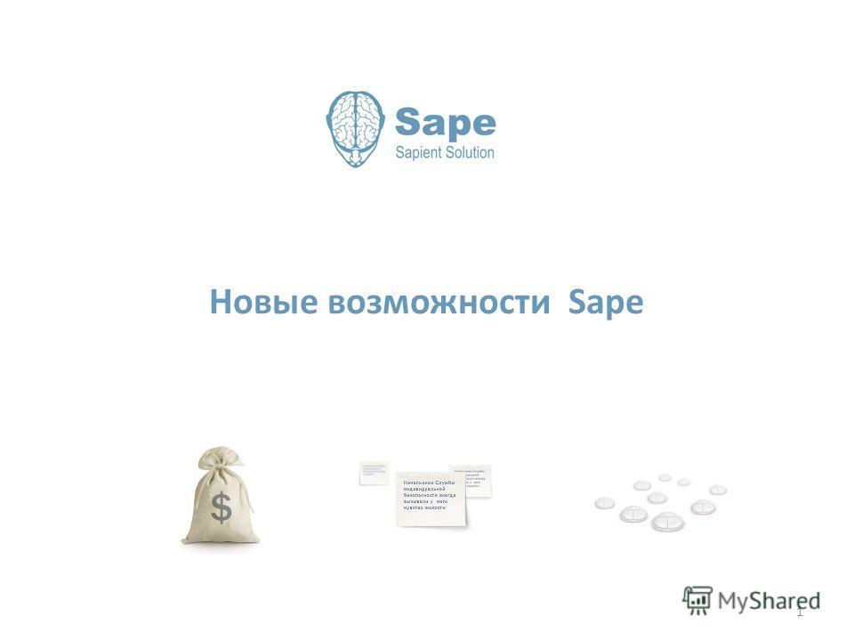 Новые возможности Sape 1