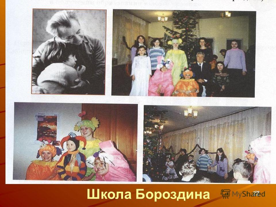 22 22 Школа Бороздина