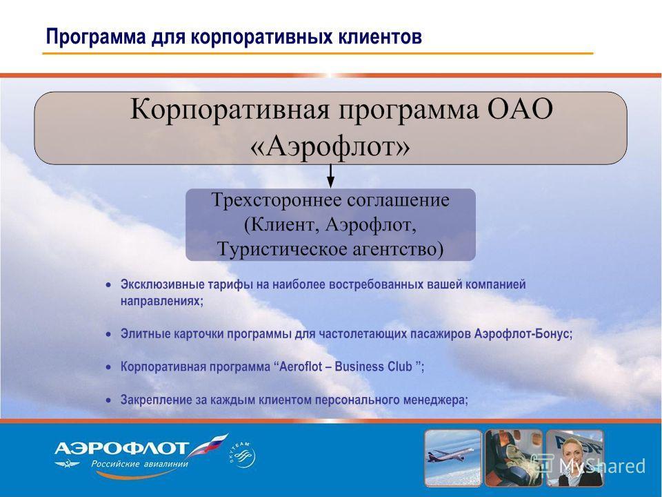 Программа для корпоративных клиентов