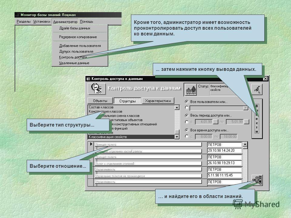Администратор может добавить нового пользователя информационной системы. Администратор может добавить нового пользователя информационной системы. Можно также допустить пользователя к областям знаний. Можно также допустить пользователя к областям знан