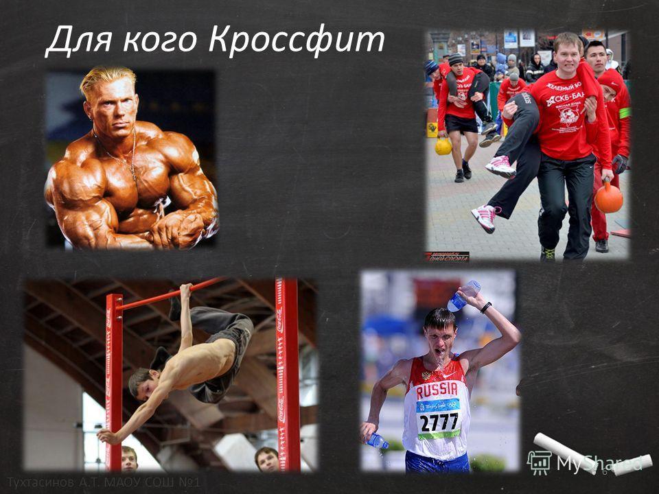 Для кого Кроссфит 6 Тухтасинов А.Т. МАОУ СОШ 1
