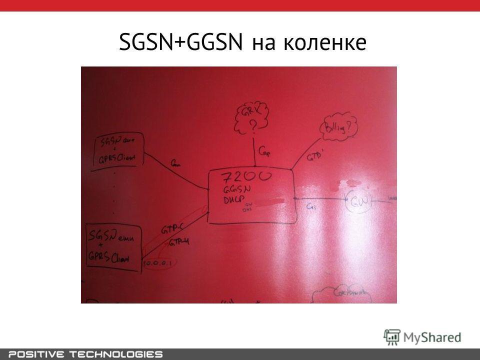 SGSN+GGSN на коленке