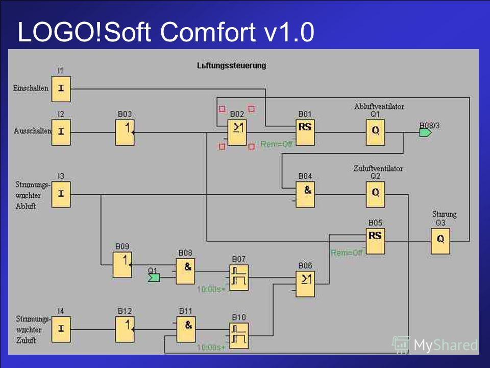LOGO!Soft Comfort v1.0