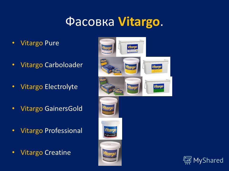 Фасовка Vitargo. Vitargo Pure Vitargo Carboloader Vitargo Electrolyte Vitargo GainersGold Vitargo Professional Vitargo Creatine