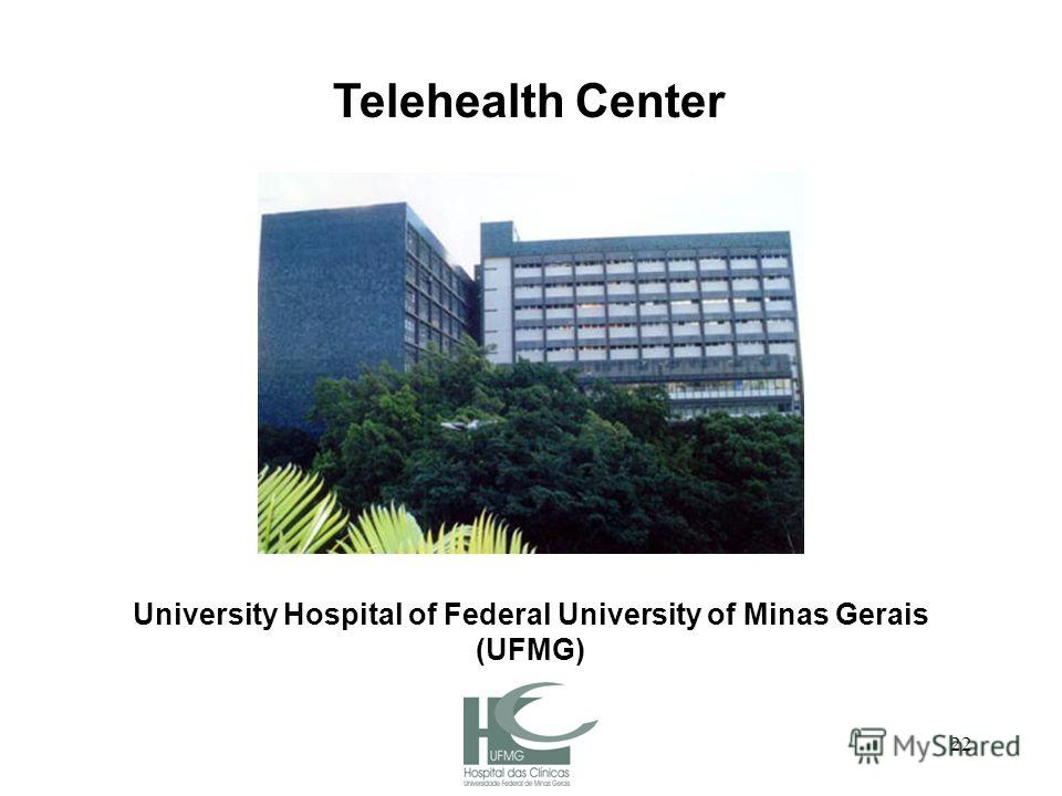 22 University Hospital of Federal University of Minas Gerais (UFMG) Telehealth Center