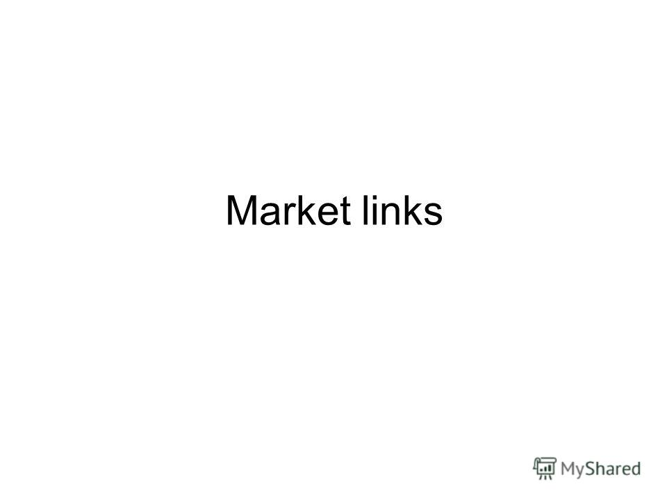 Market links