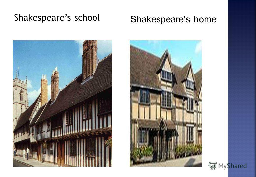 Shakespeares home