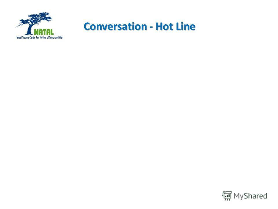 Conversation - Hot Line Conversation - Hot Line