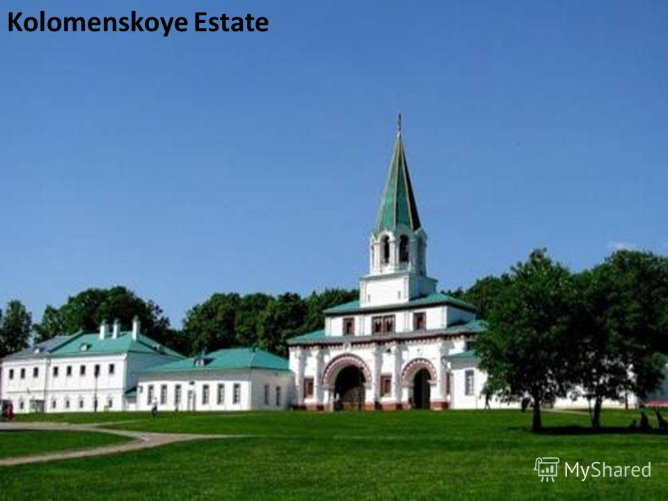 Kolomenskoye Estate