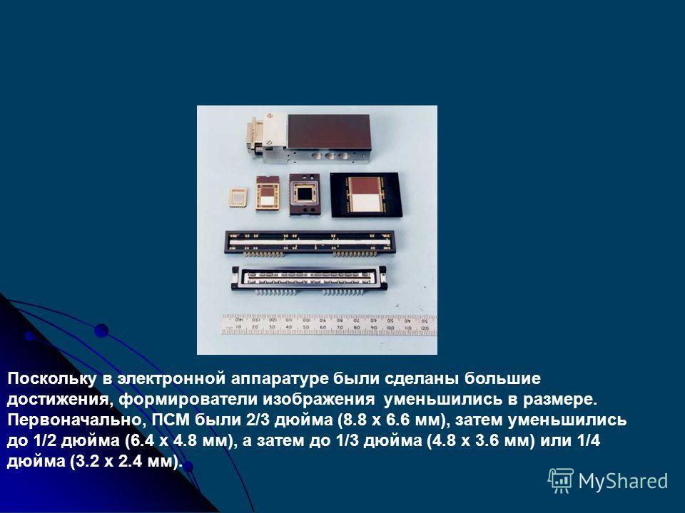 Чтобы избежать потерь между элементами матрицы, на каждом из них установлены микролинзы, чтобы сконцентрировать все фотоны на фоточувствительных ячейках. Это улучшает чувствительность камеры к свету. Микролинзы матрицы