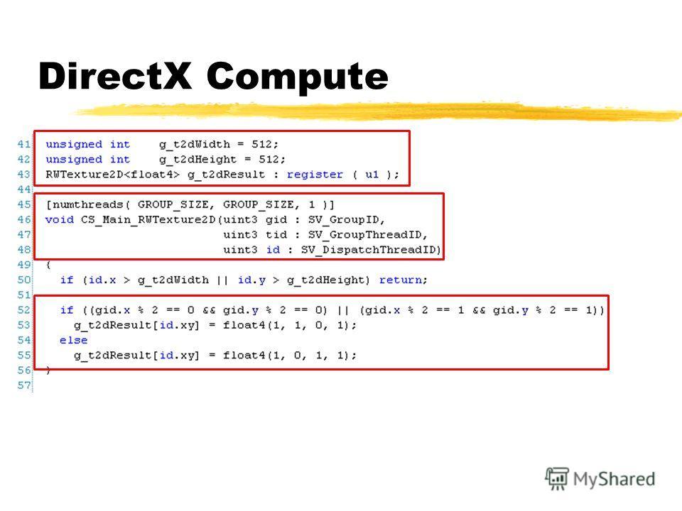 DirectX Compute