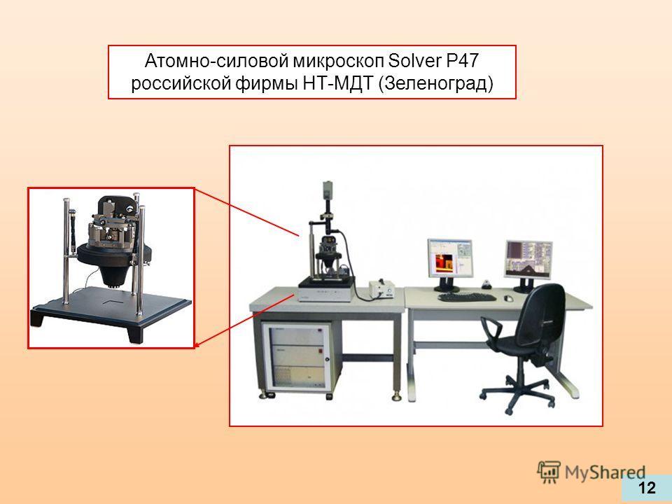 Атомно-силовой микроскоп Solver P47 российской фирмы НТ-МДТ (Зеленоград) 12