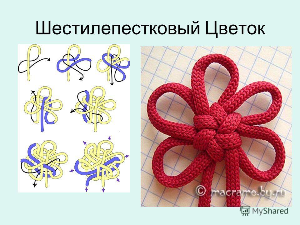Шестилепестковый Цветок