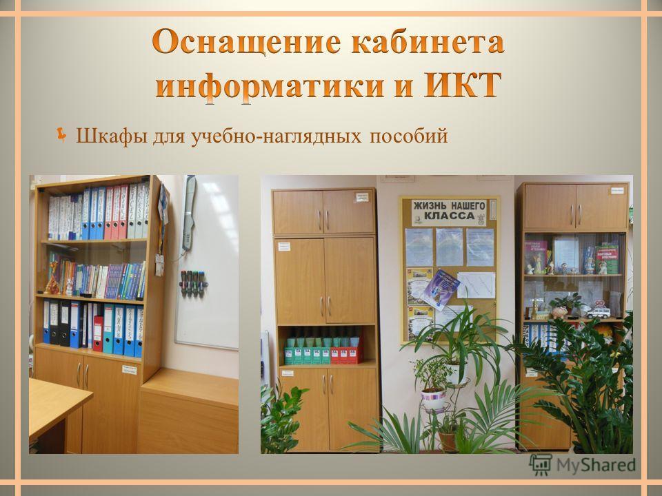 Шкафы для учебно-наглядных пособий