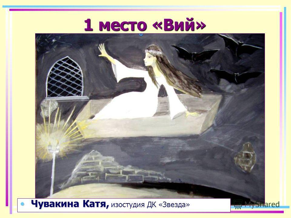 1 место «Ночь перед Рождеством» Самойлова СашаСамойлова Саша изостудия ДК «Звезда»