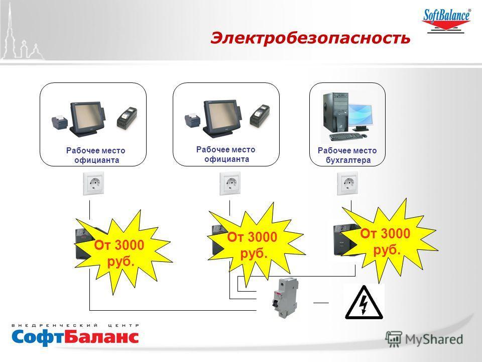 СофтБаланс Вперед! Электробезопасность Рабочее место официанта Рабочее место официанта Рабочее место бухгалтера От 3000 руб. От 3000 руб. От 3000 руб.